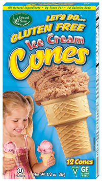 Gluten Free Ice Cream Cone Review
