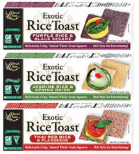 Exotic Rice Toast Review