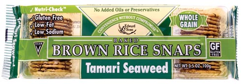 Baked Brown Rice Snaps® Review